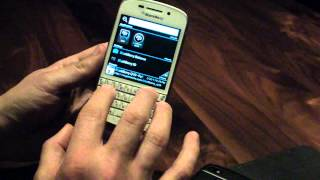 Verizon BlackBerry Q10 Hands-on