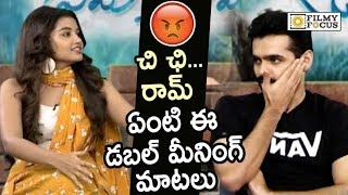 Anupama Strong Punch to Ram Pothineni Double Meaning Comments on her in Live Interview
