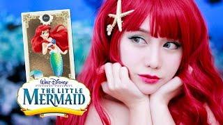 迪士尼公主系列 ✿ 久違的美人魚公主 The Little Mermaid makeup tutorial [eng sub]
