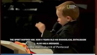 PINT SIZED PREACHER BOY - Meet Kanon - a preacher from Mississippi who is only four years old.