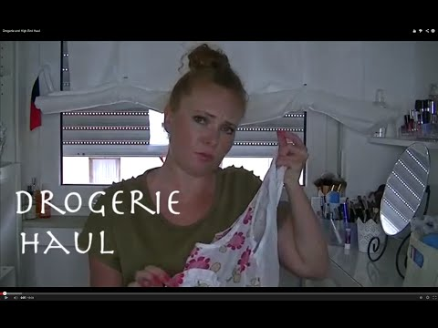 Drogerie und High End Haul