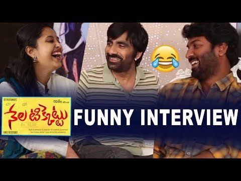 Hero Ravi Teja Funny Interview | Director Kalyan Krishna about Nela Ticket | Top Telugu TV
