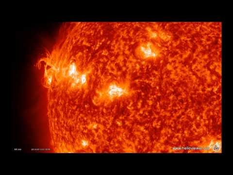 5/13/2013 -- Impressive X-class Solar Flare -- X1.7 -- not Earth directed