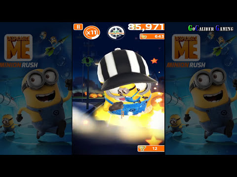 Despicable Me: Minion Rush Android Walkthrough - Part 4 - NEW
