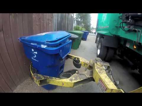 Scorpion ASL Garbage Truck Ride Along — GoPro Arm View