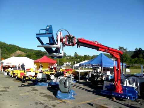 Miner's Helper LLC Coal Mine Arm at the 2007 Bluefield WV Coal Show