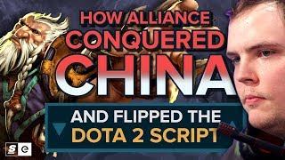 How Alliance kicked in China's door, flipped the Dota 2 script and stole the G-1 title away