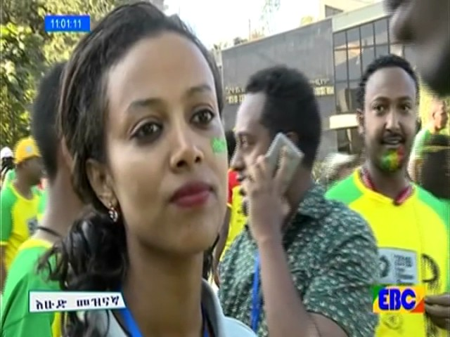 Caught On Camera During The Great Ethiopia Run