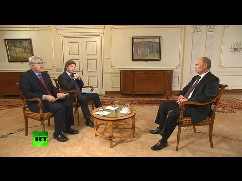Интервью Владимира Путина «Первому каналу» и Associated Press