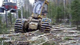 харвестер Eco Log в России  головка Log Max Harvester ECO LOG in Russia