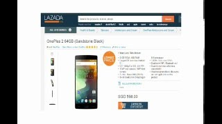 OnePlus 2 64GB (Sandstone Black) (Singapore Hot Product)