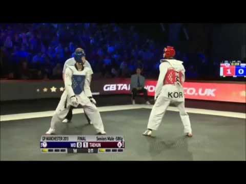 Taekwondo Grand Prix 2013   58kg Final   Tpe Vs Kor video