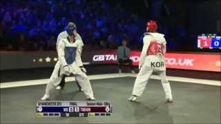 Taekwondo Grand Prix 2013   58kg Final   TPE Vs KOR