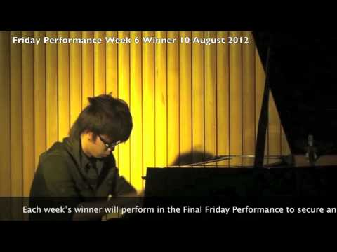 So Good - Brian Culbertson (cover) by Chang Kae Yih@ICOM Friday Performance Week 6 10th August 2012