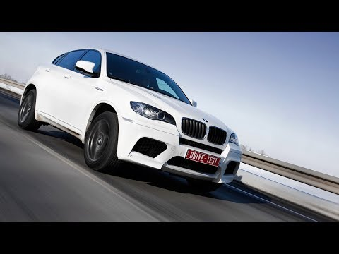 Обзор BMW X6 M — Динамика на асфальте
