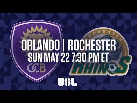 WATCH LIVE: Orlando City B vs Rochester Rhinos 5-22-16
