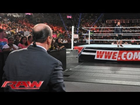 Paul Heyman reveals why he betrayed CM Punk at Money in the Bank: Raw July 15 2013