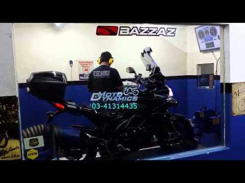 Ducati Multistrada 1200S Bazzaz ZFI, Dyno & Tuning (Singapore) - Motodynamics Technology Malaysia