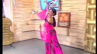 flamenco-bollywood dance Senorita Udi udi Performance TV channel TDK November 2012  Amina Garayeva