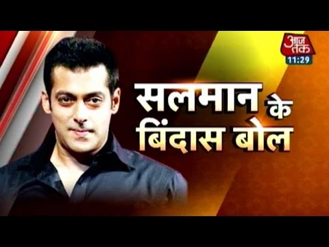 Salman, Jacqueline 'kick' A Storm In Aaj Tak Studio video
