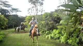 Horseriding on Kauai