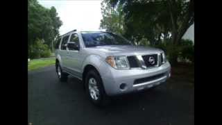2006 Nissan PathFinder SE 3rd Row Seating - 10,500 O.T.D. Tax, Title and FL Tag Transfer Included...