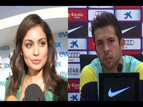 Hiba Abouk y Jordi Alba, la pareja del año