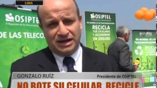 No Bote Su Celular, Recicle