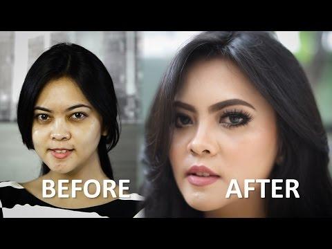 Tutorial Makeup Pengantin Internasional //  #OADMAKEOVER Eps. 1