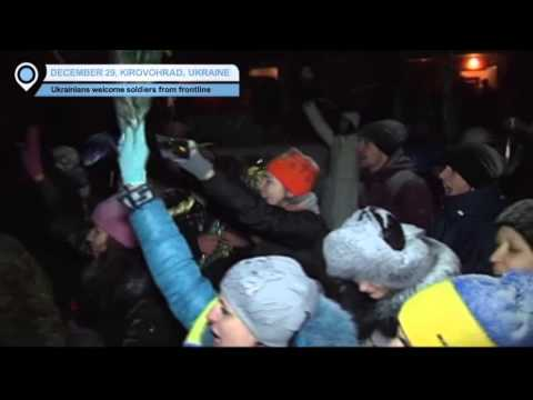 Ukrainian Soldiers Home for New Year: Emotional return to snow-covered Kirovohrad