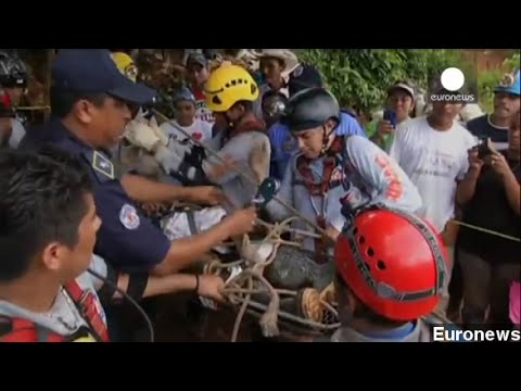 20 Miners Rescued From Collapsed Nicaragua Gold Mine
