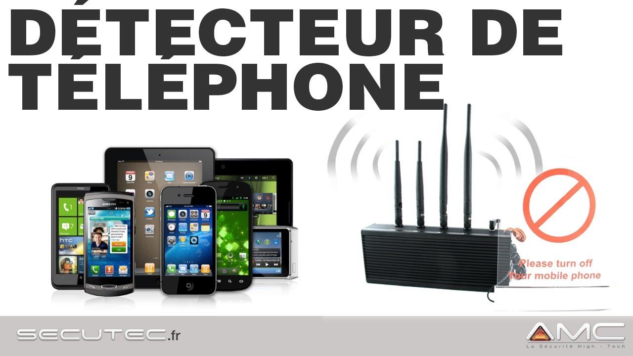 DÉTECTEUR DE TÉLÉPHONE PORTABLE & SMARTPHONE  GSM, 2G, 3G