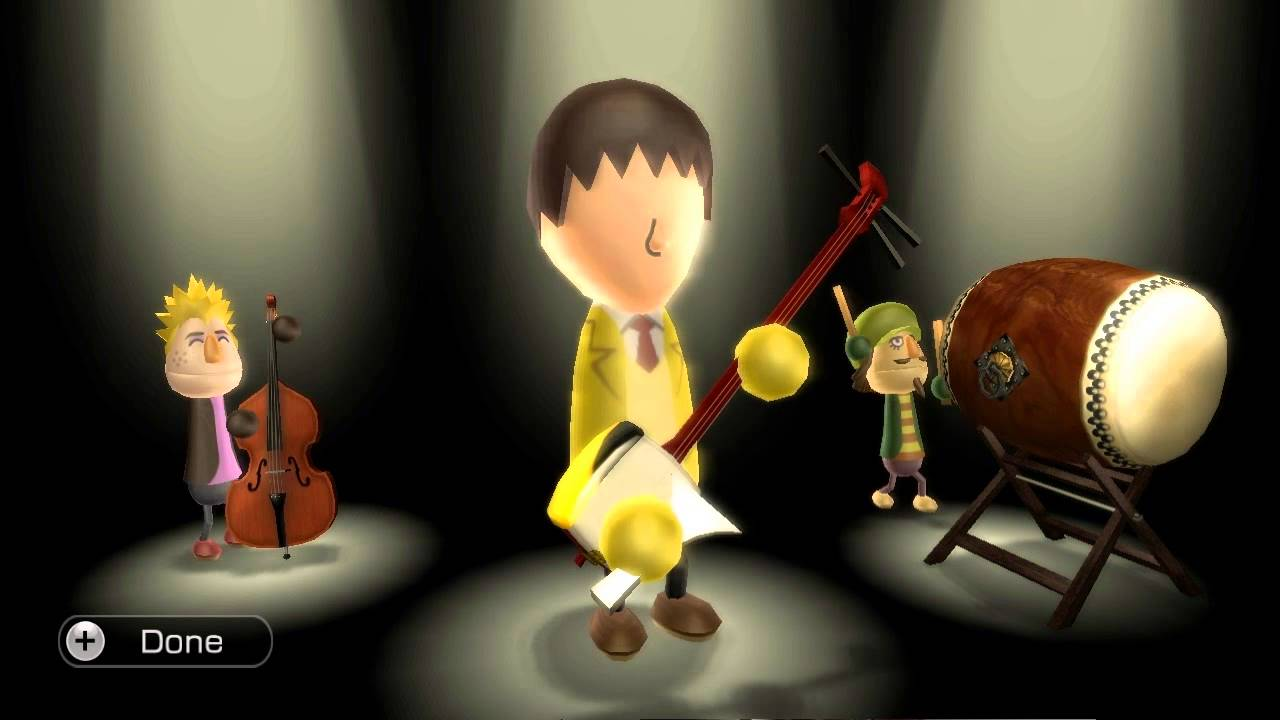 Wii Music - Part 7 - Multi Instrument Improv Session - YouTube