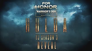 For Honor: Warrior's Den LIVESTREAM July 25 2019 | Ubisoft [NA]