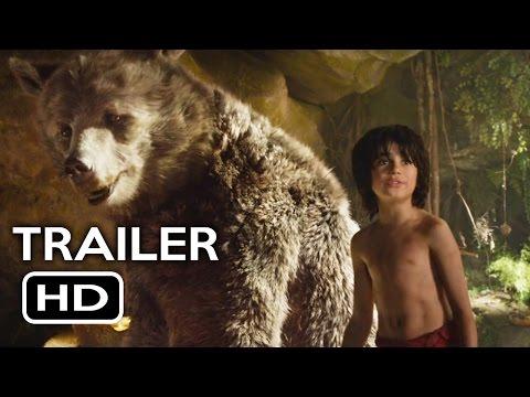 The Jungle Book Official Trailer #2 (2016) Scarlett Johansson Live-Action Disney Movie HD