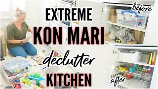 CLEAN WITH ME 2019 | ULTIMATE KON MARIE DECLUTTER AND ORGANISE MY KITCHEN WITH ME | ELLIS SARA SMITH
