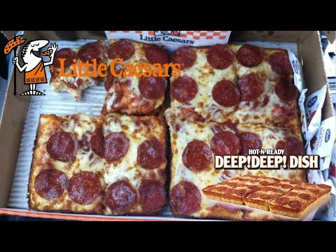Little Caesars Deep Deep Dish (Pepperoni) Pizza Review