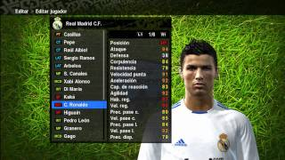 PES 2010 ( Faces ) - Real Madrid 2010-2011 [HD]