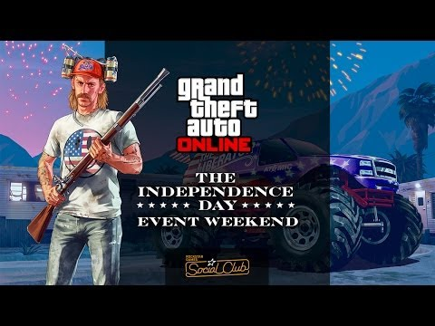 GTA Online Independence Day Rockstar Broadcast Show: USA vs UK REMATCH w/ Lui Calibre & GTAVoclock