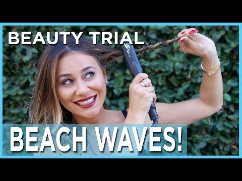 Beach Hair Tutorial With A Straightener