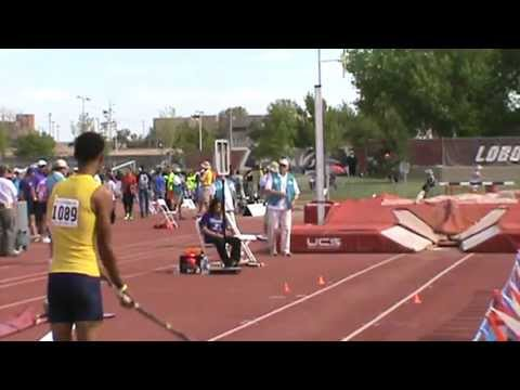 Highland High School-Anthony King@2013 New Mexico State Track & Field Championship-3Jump