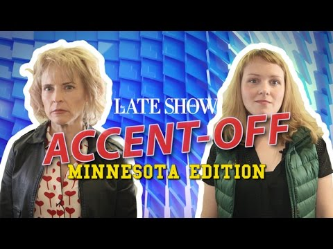 The Late Show Accent-Off: Minnesota Edition