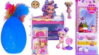 Slumber Party Sleep Over Bedroom ! Shopkins Shoppies Lil Secrets Set