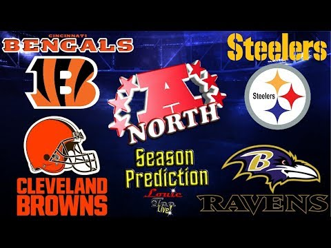 2017 NFL Season: AFC North Season Preview & Predictions #LouieTeeLive