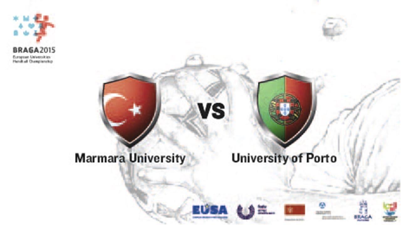 Marmara U. vs U. Porto | Female | Group A | Lamaçães Sports Hall