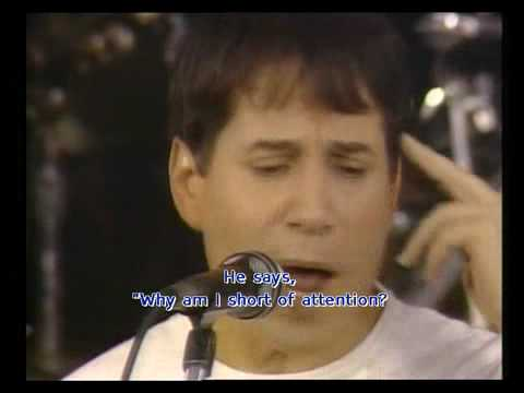 Paul Simon: Call me Al, concert zimbabwe / South Africa