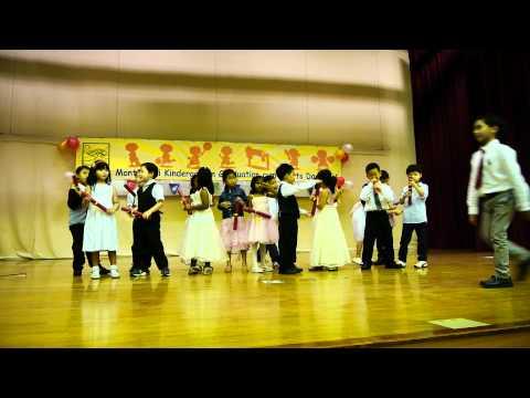 Bridges Montessori Kindergarten Graduation - K2 2011 - 11/12/2011
