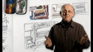 TRAILER | Sketching on Location: Thumbnails for Landscapes with Glenn Vilppu