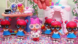 Teacher's Pet Clones in MLP Wedding ! Toys and Dolls Pretend Play for Kids | SWTAD