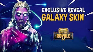 EXCLUSIVE GALAXY SKIN REVEAL!! - Fortnite Battle Royale Gameplay - Ninja & TimTheTatman
